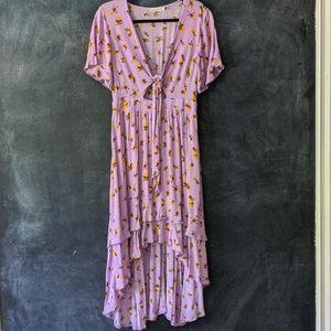 ASOS | Sisters of the Tribe Ruffle Hi Low Dress